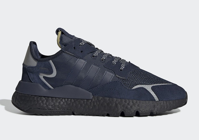 premium selection 76ce7 d1bc6 The adidas Nite Jogger Goes Stealthy With Dark Navy And Black BOOST
